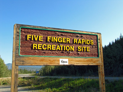 Five Fingers Rapids Recreation Site in the Yukon Territory, Canada (Klondike Highway) (1)
