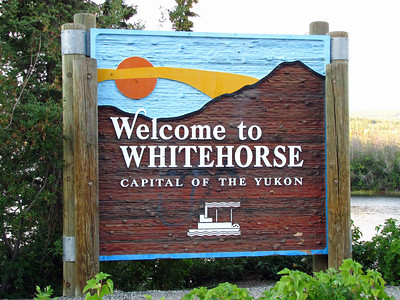 White Horse in the Yukon Territory, Canada (1)