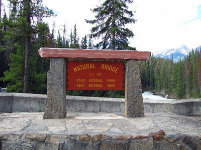 Natural Bridge, Yoho National Park (1)