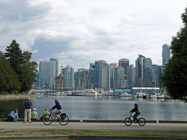 Vancouver, British Columbia (View from Stanley Park) (1)