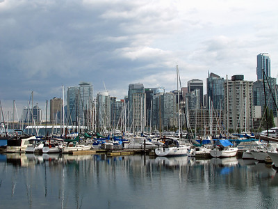 Vancouver, British Columbia (View from Stanley Park) (4)