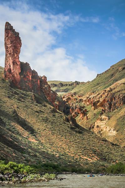 Owyhee River Rocks