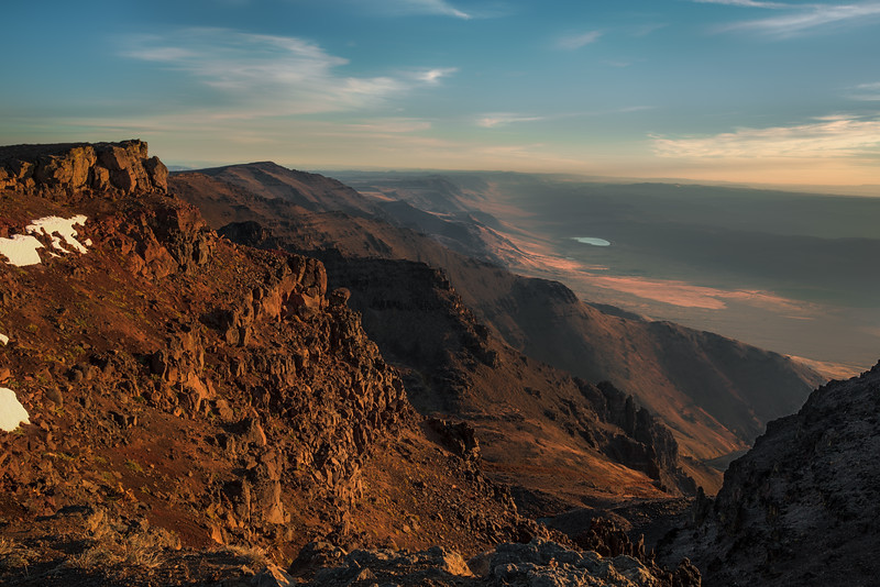 Sunrise on Steens