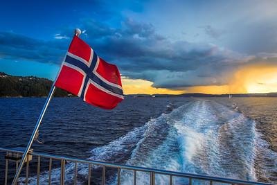Norwegian Sunset SummerStorm