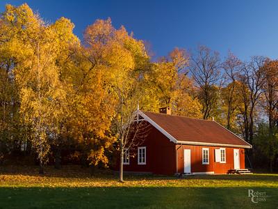 Norwegian Autumn Cottage