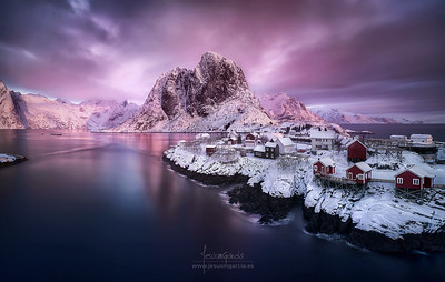 Hamnoy sunrise