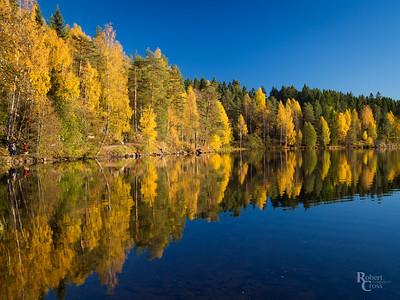 Norwegian Autumn Reflections