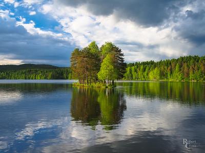 Springtime at Sognsvann