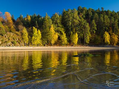 Autumn Ripples on the Oslofjord