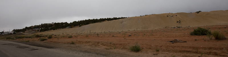Lisbon Valley Mine Tailings