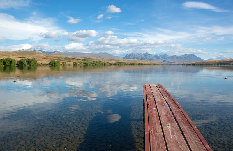 Lake Alexandrina New Zealand
