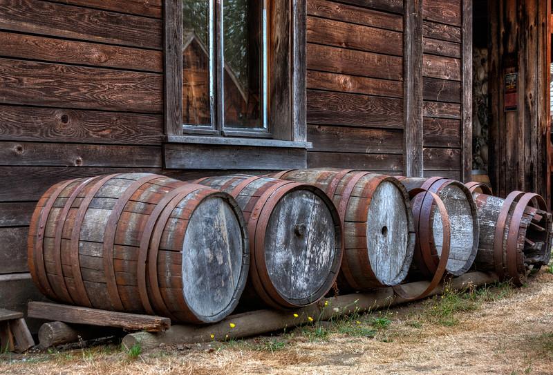 Barrels at the Fort