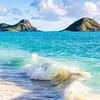 Mokulua Islands off Bellows