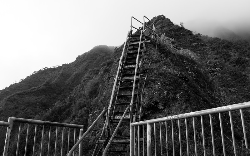 Stairway to Heaven (Haiku Stairs)