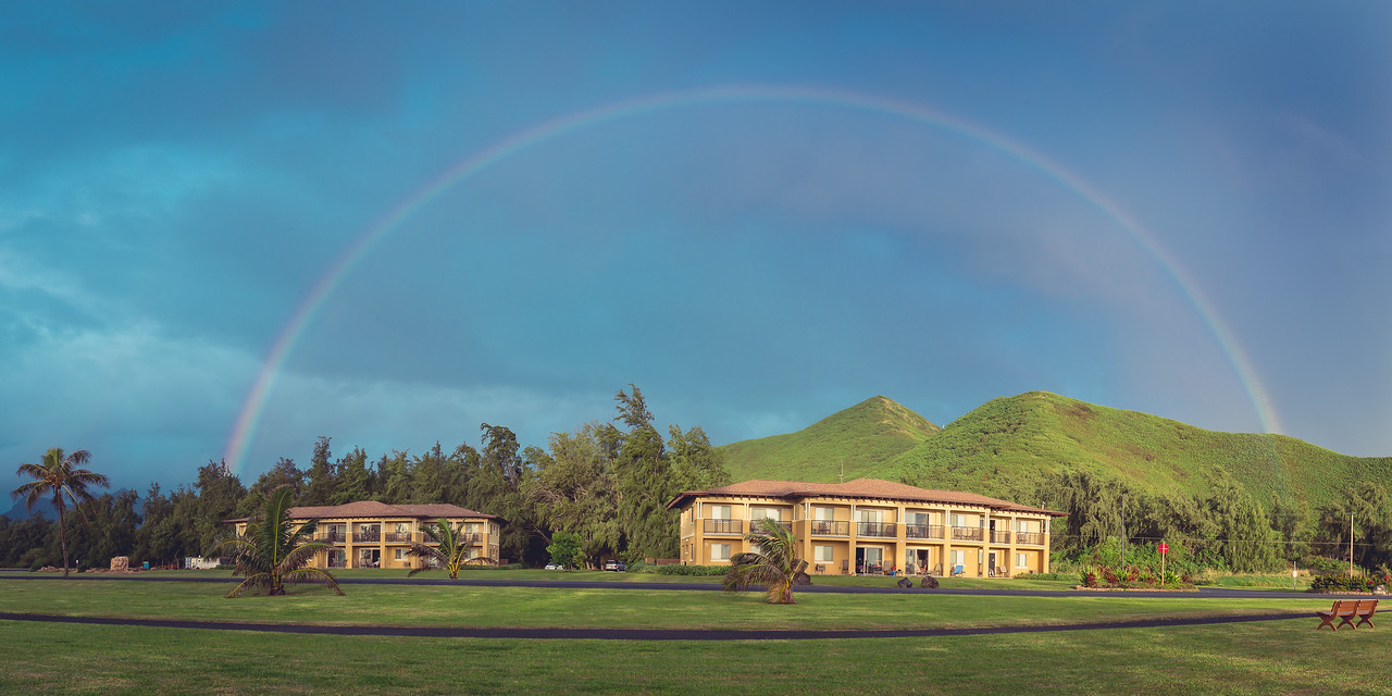 Rainbow over Bellows