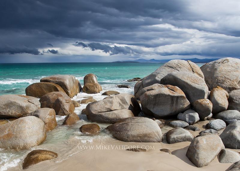 Beer Barrel Beach<br /> St. Helens, Tasmania