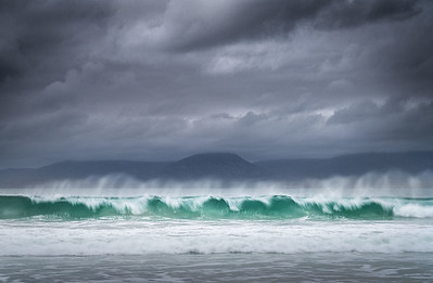 Perfect wave, Outer Hebrides, Scotland