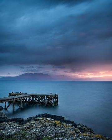 Light over Arran, Scotland