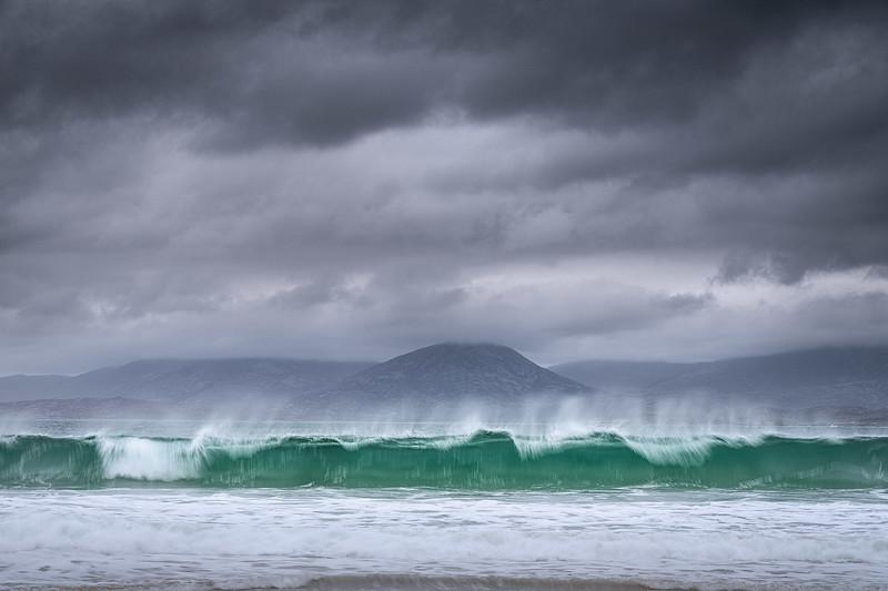 Rolling waves, Luskentyre, Outer Hebrides, Scotland