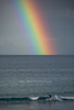 Rainbow and surfer<br /> Freshwater Beach<br /> Sydney, Australia