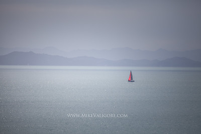 Sailboat on the Tamaki Strait