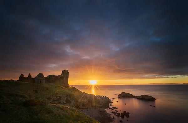 Dunure castle, Ayrshire, Scotland