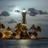 """""""Moonrise Over The Hillsboro Lighthouse"""""""