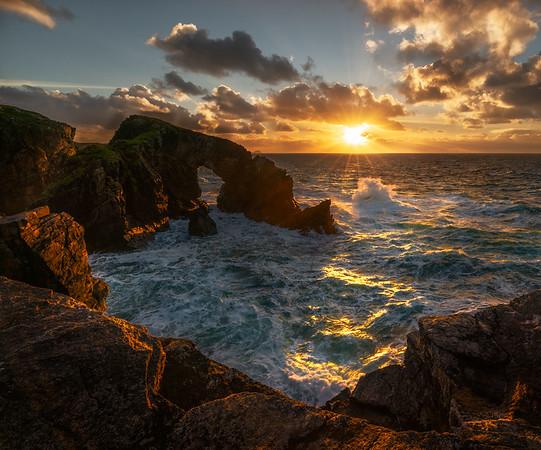 Sea Arch, Outer Hebrides, Scotland