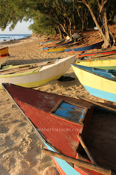 Mozamique fishing boats