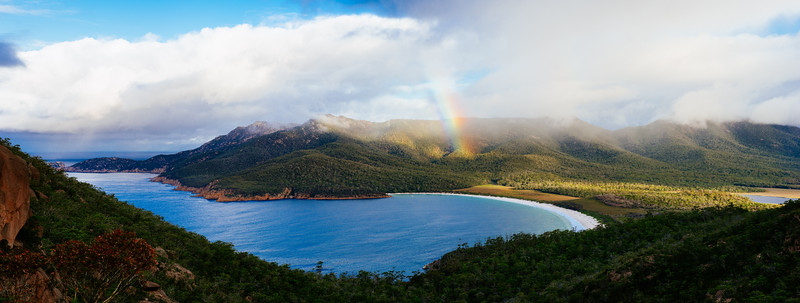 Rainbow to Wineglass Bay