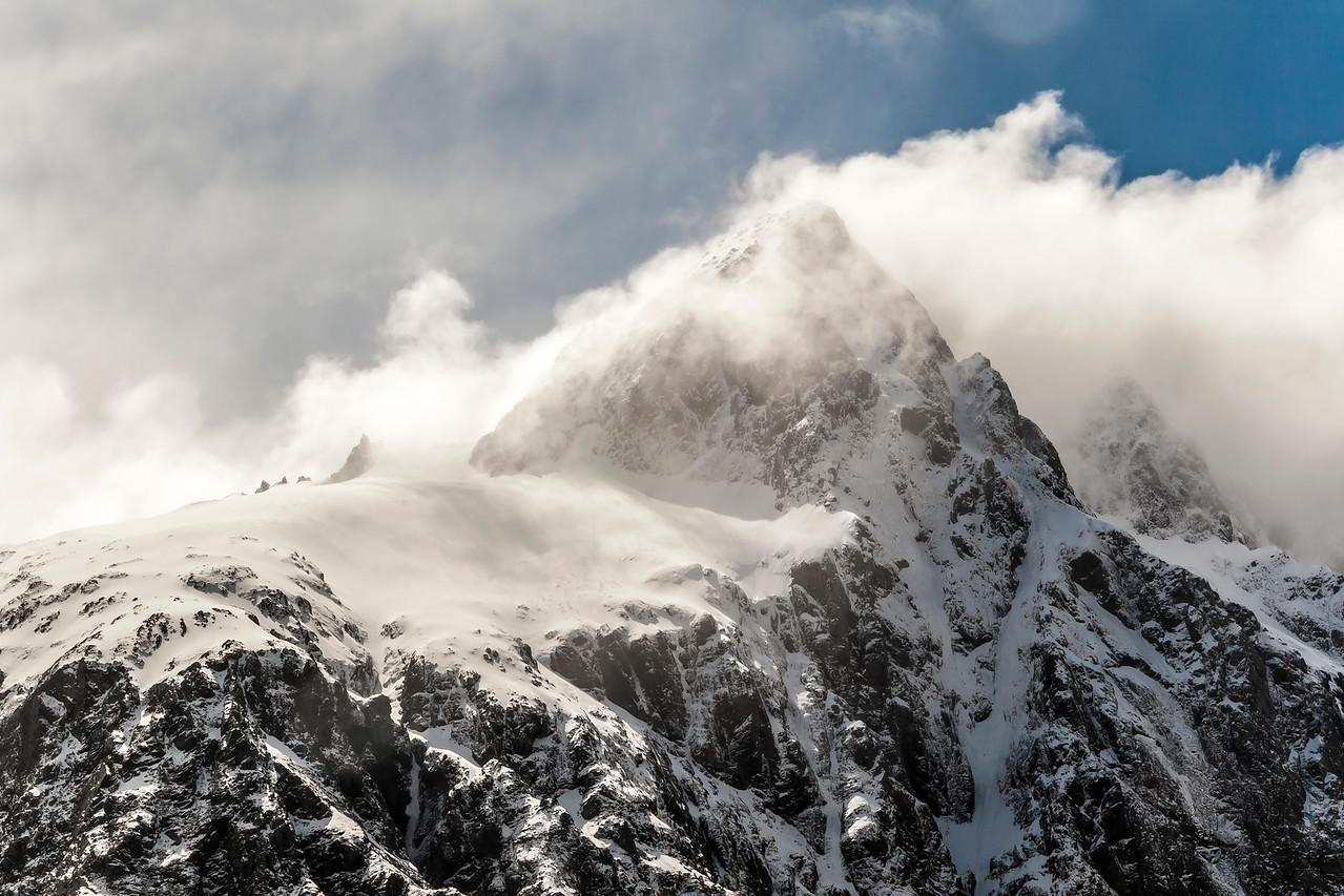Mountains of Milford Sound