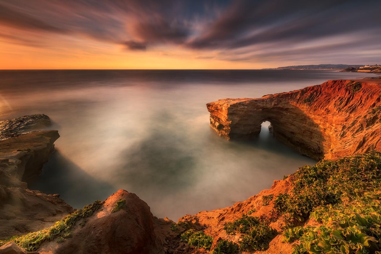 Sunset Cliffs Arch