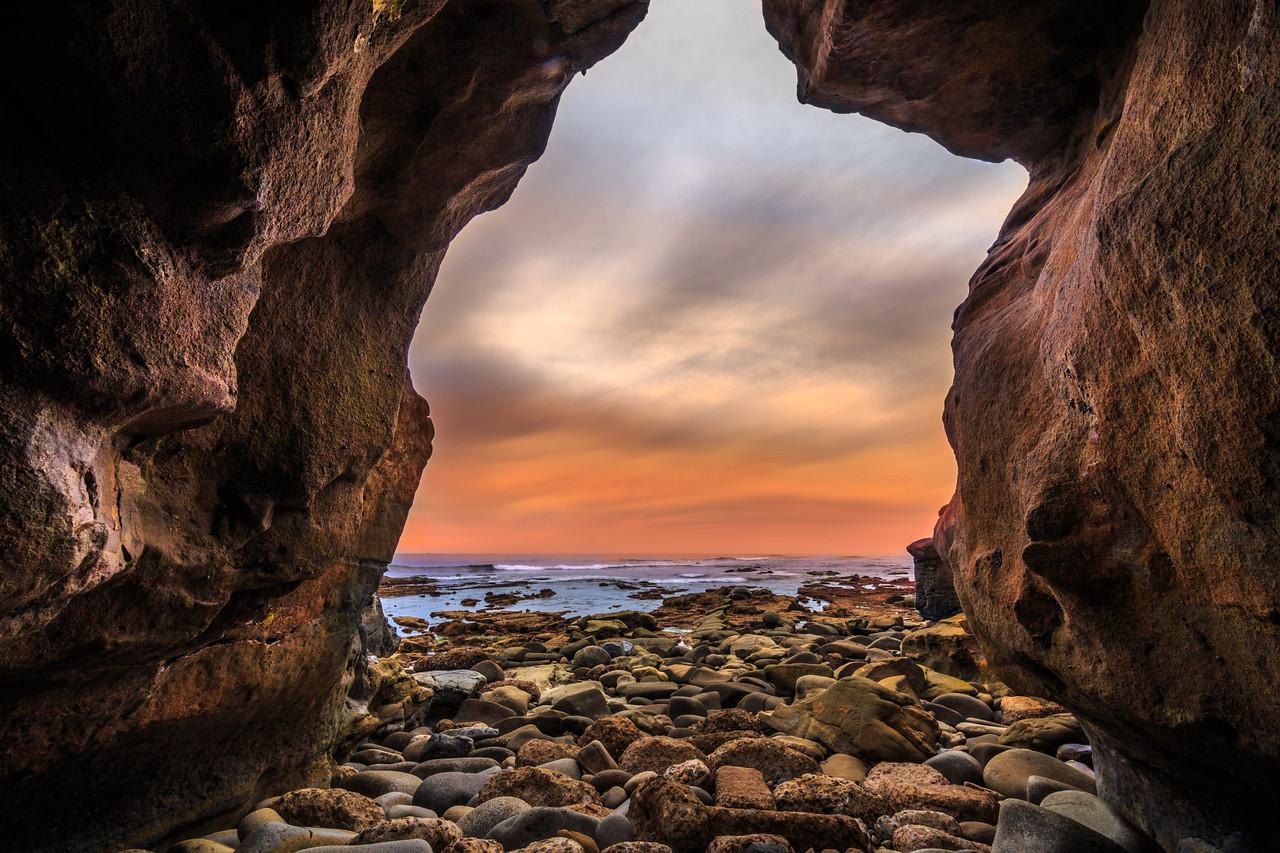 Sunset Cave