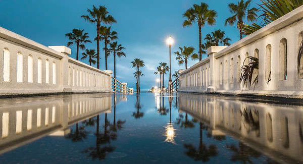 Dan Eckert's Reflections at Oceanside Pier