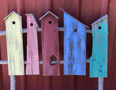 Birdhouse Parts, Hillsborough, 2020
