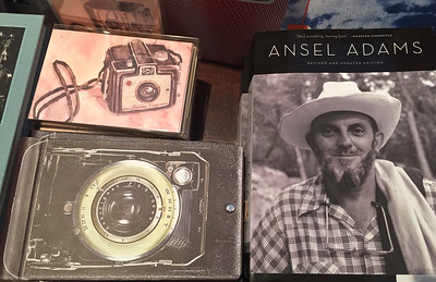 Ansel and Cameras, Museum Store, 2015