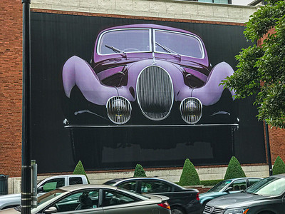 Museum Car Exhibit, Portland, 2018