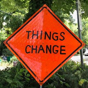 Prophetic Street Sign, Portland, 2020