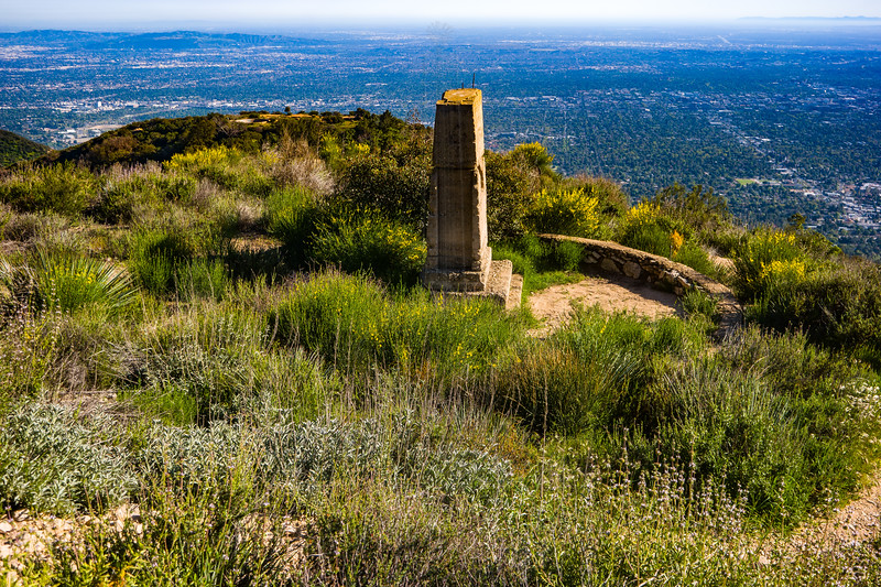 Ruins of Echo Mountain Observatory