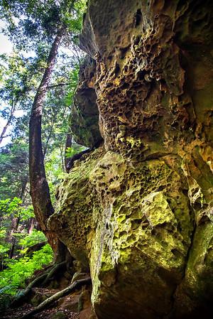 Honeycomb Rocks