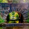 ancient bridge ~ Mill Creek Park, Ohio ~ road trip to Ohio