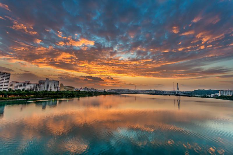 Firey Skies in Okinawa