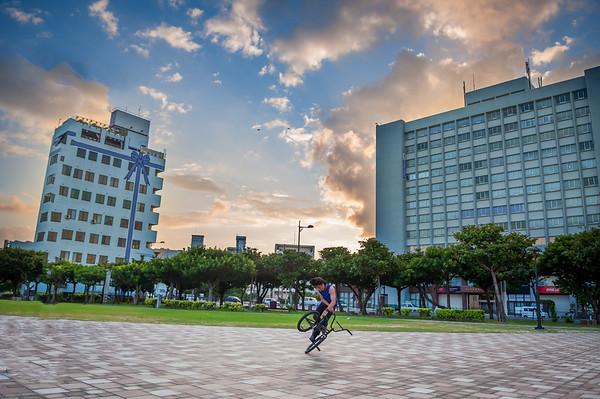 Biking in Okinawa