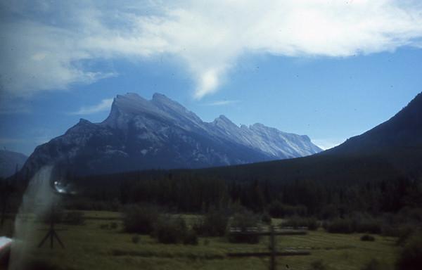 Banff from Railroad