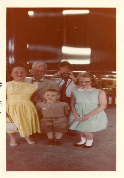 Family at Coney Island