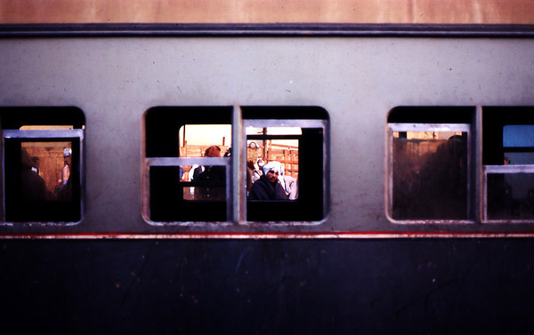 Train in Egypt