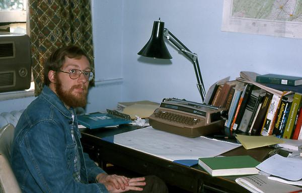 Me in UVA Office 2