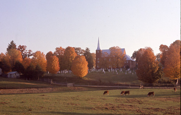 Fall Church Scene