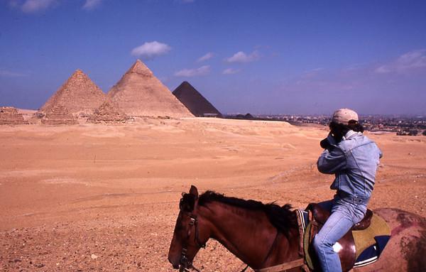 Chris at Giza