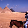 Chris at Giza